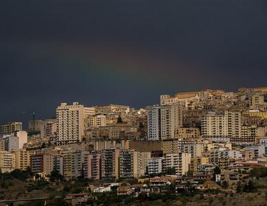 Rainbow over Agrigento