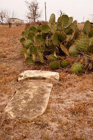 Mexican Cemeteries in Rural Texas