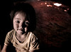 Child Sitting in the Darkness, Khong Toune, Laos