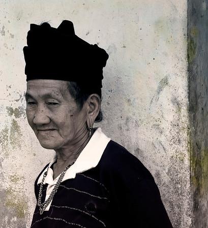Mekong Village #1, Laos: Women and Children (2009)