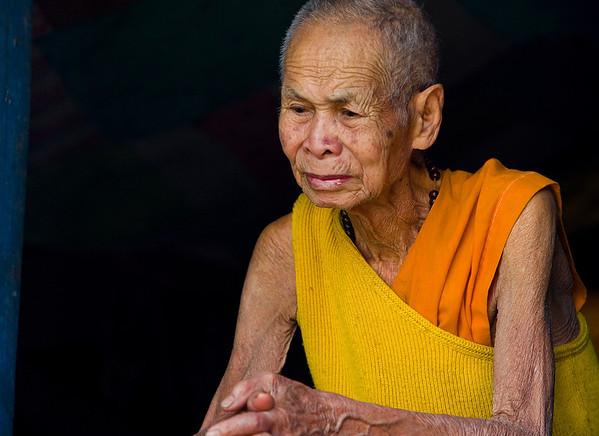 Mekong Village #2, Laos: Monks and Landscapes (2009)