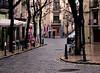 Valencia: Umbrellas in the Rain