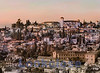 View from the Alhambra, Albaizin (Arab quarter), Granada, Spain