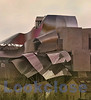 Back View, Hotel Marques de Riscal by Frank Gehry, Elciego, Spain