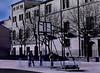 Basketball, Schoolyard, Santo Domingo de la Calzada, Spain