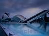 L'Hemisferic, City of Arts and Sciences by Calatrava, Valencia, Spain