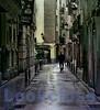Man Walking, Barrio Viejo, Valencia, Spain