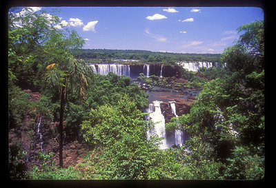 Iguazu Falls National Park, Argentina.
