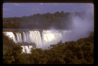 Waterfall, Iguazu Falls National Park, Argentina.