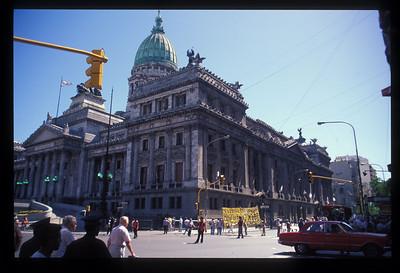 Parliament, Buenos Aires, Argentina.