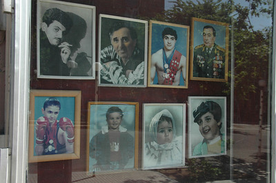 Shop window, Yerevan, Armenia.