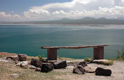 Lake Sevan, Armenia.