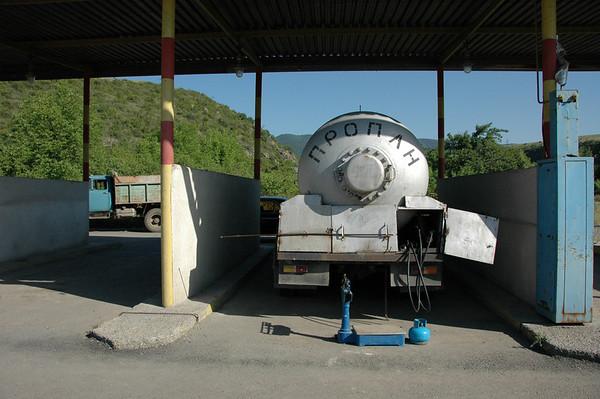 Propane truck, Armenia.