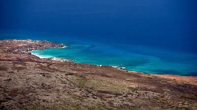 The Ascension Island shore.