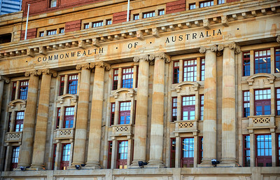 Perth, Australia government building HDR.