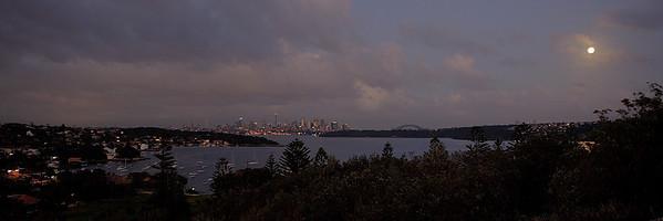 Sydney, Australia overnight HDR.