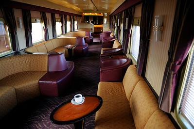 The Ghan train, Australia.