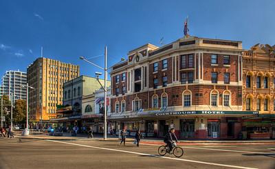 Street scene, Darlinghurst, Sydney, Australia.