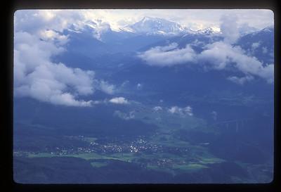 Alpine village, Tyrol region, Austria.