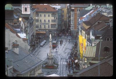 City Center, Innsbruck, Austria.