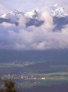Village near Innsbruck, Austria.