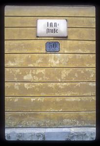 Number 50 Inn Street, the Alps.