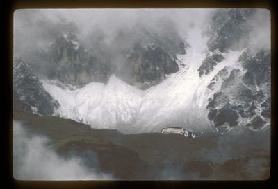 Glacier above Innsbruck, Austria.