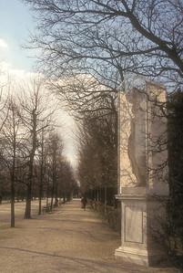 A winter walk near Schönbrunn Palace, outside Vienna, Austria.