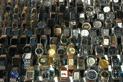 Watches, Market, Baku, Azerbaijan.
