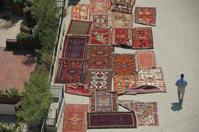 Carpets for Sale, Baku, Azerbaijan.