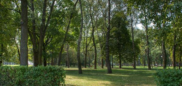 Janki Kupaly Park, Minsk, Belarus.