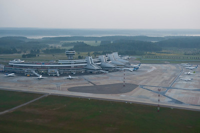 Minsk International Airport.