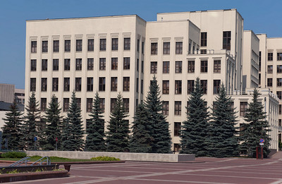House of government, Minsk, Belarus.