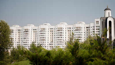 High rise housing, Minsk, Belarus.