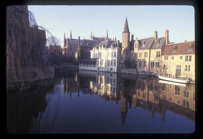 Canal, Bruges, Belgium.