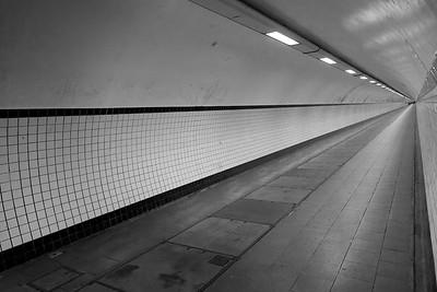 Sint Annatunnel, Antwerp Belgium