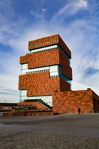 The MAS museum, Antwerp, Belgium