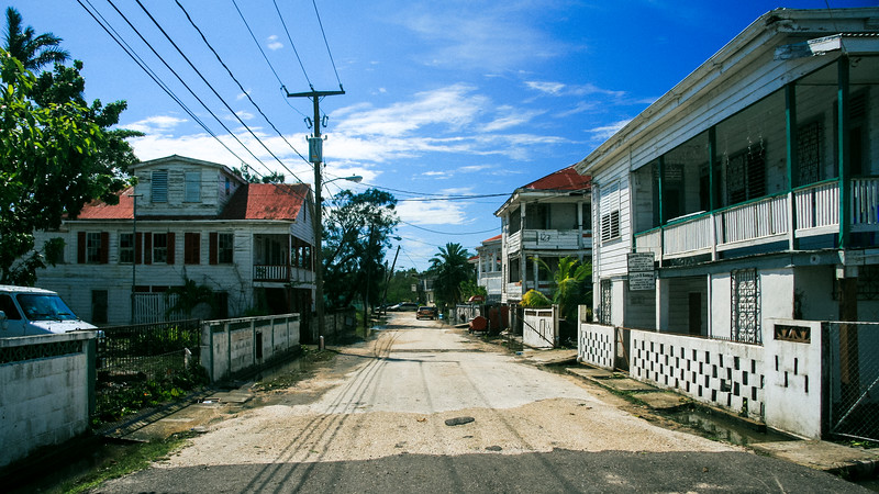 Streets of Belize City