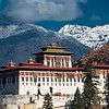 Paro Dzong in Winter