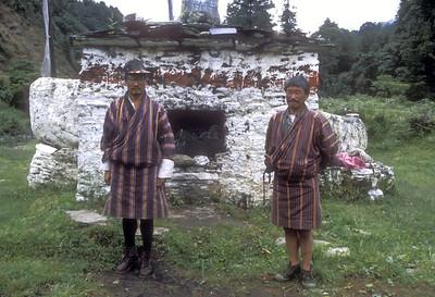 Stupa outside Rukubji, Bhutan.