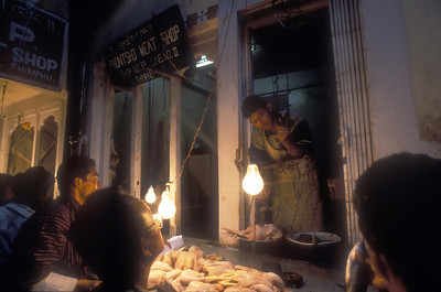 The Phuntsho Meat Shop, Thimphu.