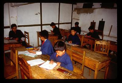 Indigenous Art School, Thimpu, Bhutan.