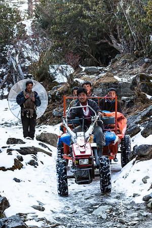 Road to Merak, Eastern Bhutan