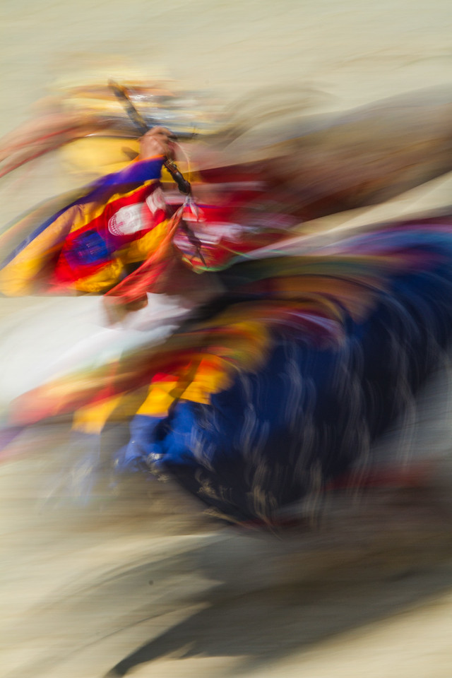 Spinning Colors, Paro, Bhutan