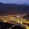 Night lights of Thimphu