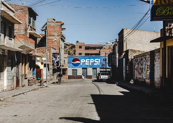 Concrete Streets of Tupiza