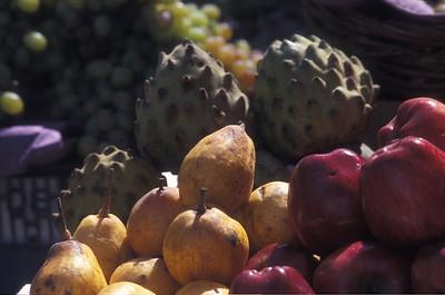 Fruit in the market, La Paz, Bolivia.
