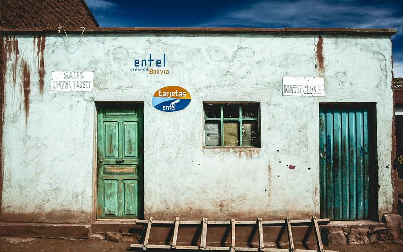 Bolivian Phone Shop