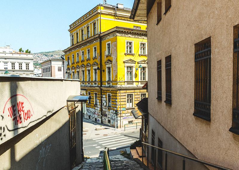 Sarajevo Backstreets