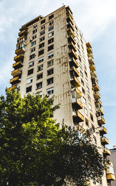 Sarajevo Tower Block